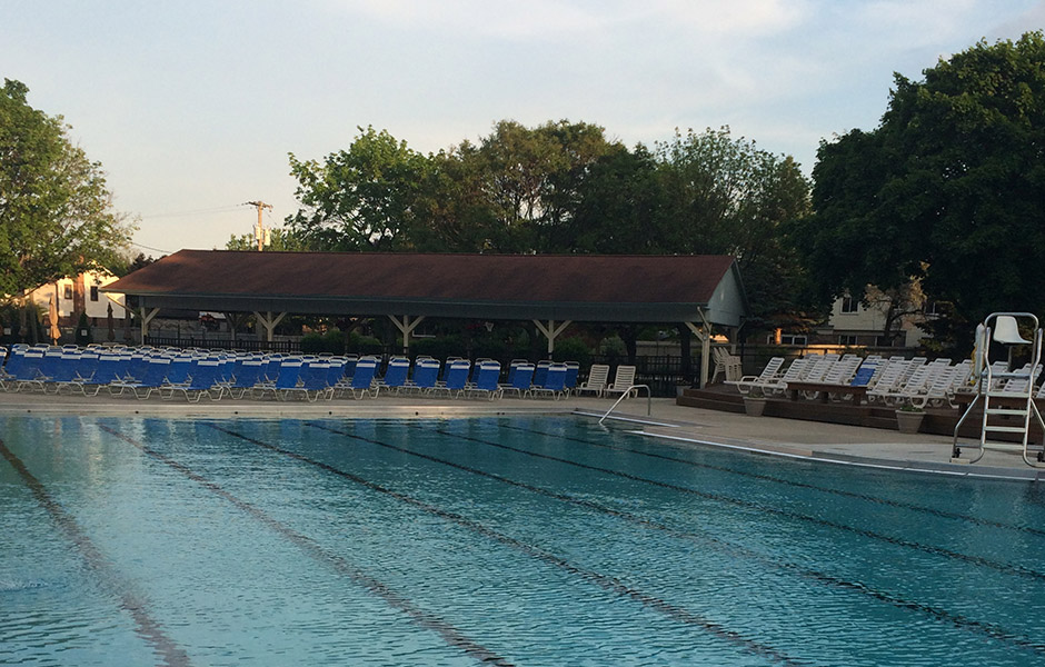 Newburgh swim club for Castle gardens pool